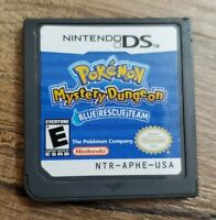Pokemon Mystery Dungeon: Blue Rescue Team Nintendo DS Authentic Tested