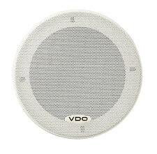 2 Stk. VDO Lautsprecher 60 Watt 2 Wege Weiße Gitter 130mm Durchmesser HPW1321/16