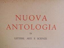 NUOVA ANTOLOGIA 1967 De Gasperi Gruber Camillo Prampolini Dino Bazzati Pascoli