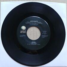 AEROSMITH Angel/Girl Keeps 45 7 HARD ROCK Record Vinyl 1987 Geffen Records