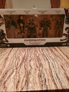 New! Hasbro Overwatch Ultimates Carbon Series Action Figure 4-Pack Set