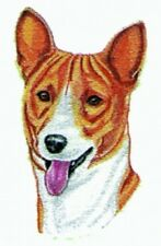 Large Embroidered Zippered Tote - Basenji Bt2495