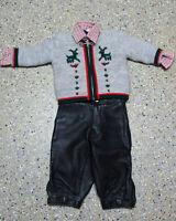 3 tlg. Jungen Kinder Trachten Konvolut in Größe 80/86 Jacke Hose Hemd L023