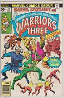 "MARVEL SPOTLIGHT#30 FN/VF 1976 ""WARRIORS THREE"" BRONZE AGE COMICS"