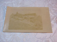 SOUTH WEST VIEW OF WRECK SEPT 21 1908 REAL PHOTO RPPC POSTCARD   T*