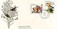 ENVELOPPE / BIRDS OF THE WORLD /  / FAUNE /  OISEAU / CENTRAFRICAINE  / 1985