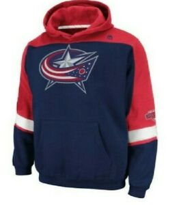 NHL Columbus Blue Jackets Stitched Hoodie Youth Sizes NEW