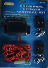 12V  REMOTE CONTROL KIT WITH 2 WIRELESS TRNSMITTER