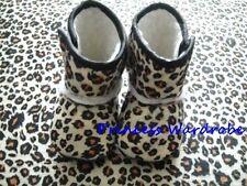 Animal Print Newborn Baby Infant Crib Shoes Boots 6-24M
