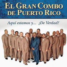 Gran Combo De Puerto Rico, El-Aqui Estamos Y De Verdad CD NEW