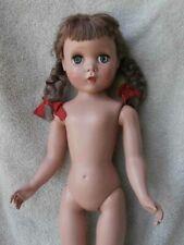 "Vintage Madame Alexander POLLY PIGTAILS Doll 17"" HP MAGGIE ? Face VHTF"