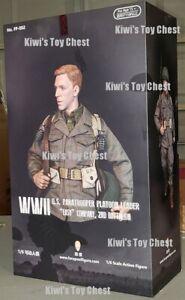 NIB Facepool WW2 US Paratrooper Platoon Leader 1/6 Action Figure Special Edition