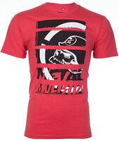 METAL MULISHA Mens T-Shirt STRATEGIC Motocross Racing RED Biker Fox $30
