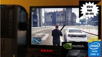 ULTRA FAST GAMING DESKTOP PC win10 i5 QUAD core 3GHz 8GB RAM 500GB GTX1050 WiFi