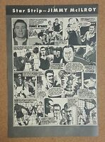 CHARLES Buchan Football Monthly magazine Star Strip picture / poster - VARIOUS
