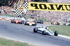 More details for 35mm slides : motor racing history formula 1 cars in action at brands hatch 1982