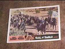 DUEL AT DIABLO 1966 LOBBY CARD #5