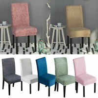2019 Stretch Dining Chair Covers Chair Protector Slipcover Wedding Decor Spandex