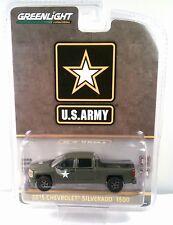 Greenlight 1:64 Us Army 2015 Chevrolet Silverado 1500