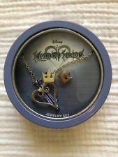 Disney Kingdom Hearts Necklace & Earrings Tin Gift Box Set