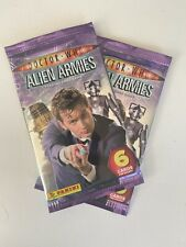Doctor Who Alien Armies Booster Pack Unopened Factory Sealed Dr Who