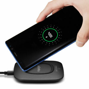Fast Wireless Charger Pad Spigen [F301W] 9v for Samsung Galaxy S... and iPhone