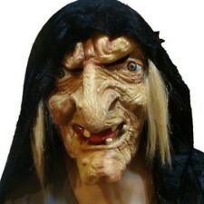 Halloween Mask Old Hag Witch Mask Women Mask Costume Prop Carnival Party