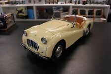"Wespe Models, Factory built Triumph TR3 ""Small Mouth"" 1957 1:8 beige"