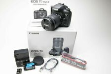 Canon EOS 7D Mark II 20.2MP In Box with 18-55 Lens Bundle