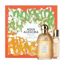 Guerlain Aqua Allegoria Pamplelune Set: 125 ml EDT Spray + 15 ml Purse Spray