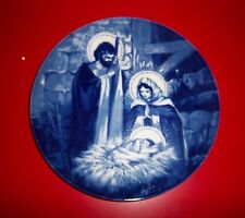 "Avon Collectible Plate - "" The Holy Family "" - 1991 Edition"