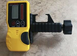 Laser Detector/ Receiver for Rotating laser level Leica, Topcon, Spectra, Rugby