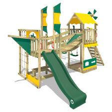 WICKEY Spielturm Klettergerüst Smart Cruiser - Spielhaus mit Schaukel & Rutsche