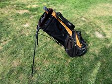 Callaway golf stand bag Orange and Black Used but good condition
