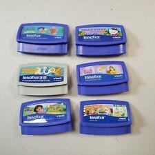 VTech InnoTab Game Lot Hello Kitty Dora Explorer Disney Princess Bubble Guppies