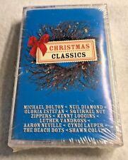 CHRISTMAS CLASSICS Sony Cassette '98 Bolton Lauper Colvin Estefan Vandrss SEALED