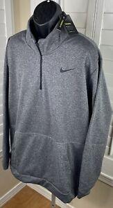 Nike Dri-Fit Therma 1/4-Zip Training Top CU6217-071 - Men's Big & Tall 4XL - NWT