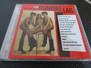 THE SHANGRI-LAS - THE BEST OF.  (THE MERCURY YEARS). 1997  25 TRACK CD ALBUM