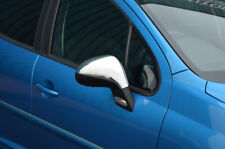 Chrome Wing Mirror Trim Set Covers To Fit Peugeot 207 (2006-12)