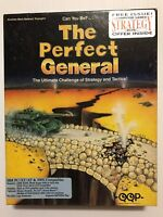 The Perfect General PC Game (Commodore Amiga) w/maps and inserts