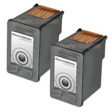 2 C9351AN BLACK Ink Cartridge for HP 21 HP21 Inkjet Deskjet F380 F4180 F2280