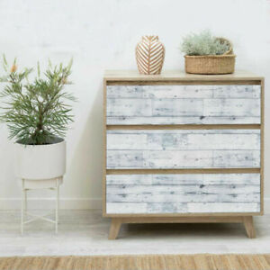 Retro Wood Grain Wallpaper Peel and Sticker Contact Paper Home Decor Removable