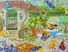 PUZZLE..JIGSAW.....BAMBECK....Butterfly Garden.....300pc..Sealed.