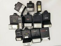 Joblot of Flashguns / Camera Flash Lights - ***Parts/Repairs**