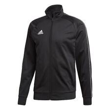 adidas Core 18 Polyester Jacket Kids Black White 164