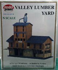 N Scale Model Power 'Valley Lumber Yard' Kit #1565