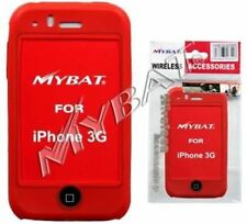 iCOVER iPHONE RED Silicone Skin Cover for iPhone 3G (Red)