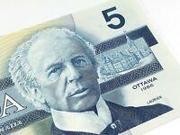 1986 Canada Five 5 Dollars EPV Prefix Canadian Uncirculated Banknote I746