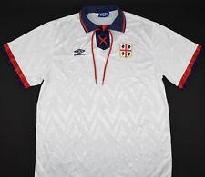 1992-1993 CAGLIARI UMBRO AWAY FOOTBALL SHIRT (SIZE XL)