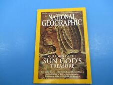 National Geographic Magazine November 2003 Guard of The Sun God's Treasure
